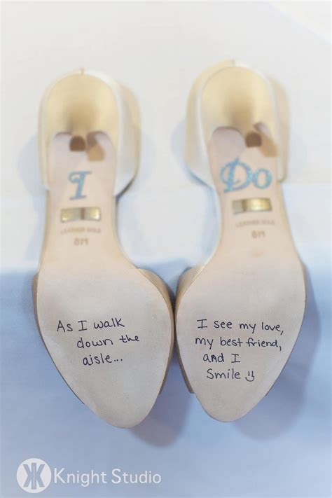 I LOVED my wedding shoes!! I wrote a poem for my new