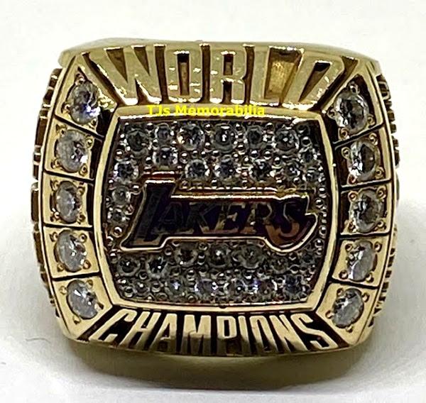 2000 LOS ANGELES LAKERS NBA CHAMPIONSHIP RING ...