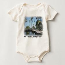 It's Tough Living Here Baby T-shirt shirt