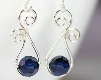 Wire Wrapping Video Tutorial And Swarovski Crystal Jewelry