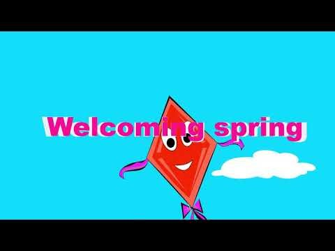 3rd Std - Term2 - English- Unit 1-Welcoming spring