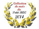 collection de mots 2014
