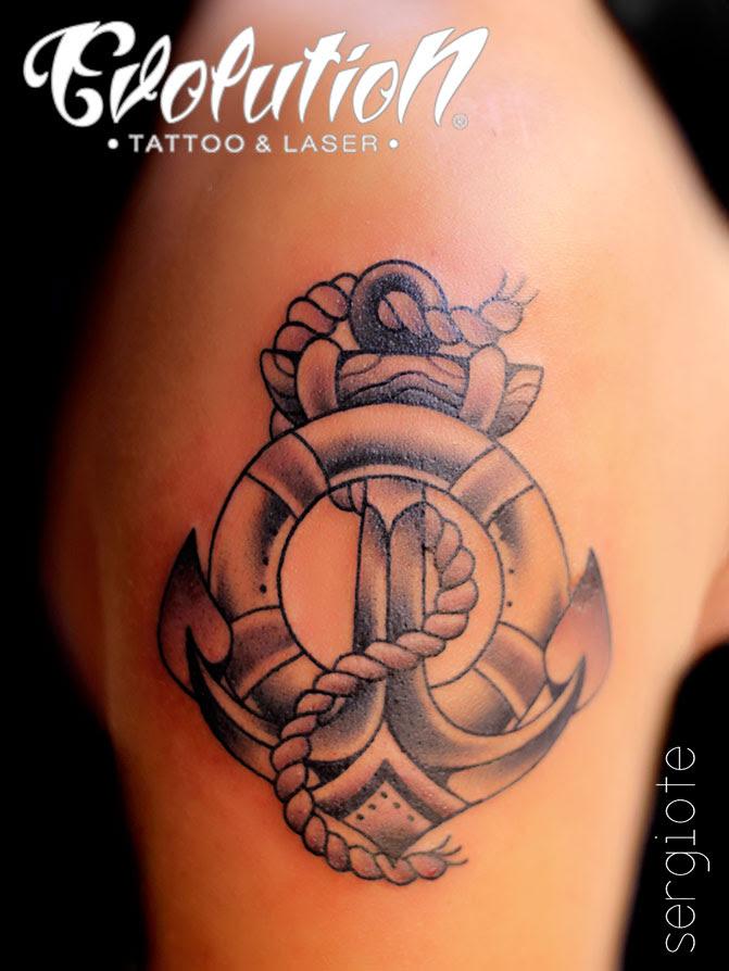 Tatuajes De Anclas Evolution Tattoo Tatuajes Y Eliminacion Laser