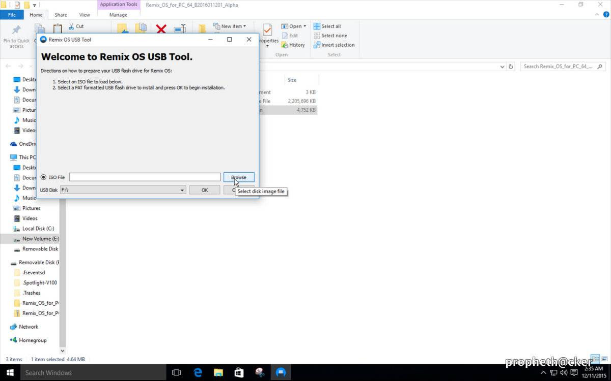 Make Remix ISO Boot in Pendrive
