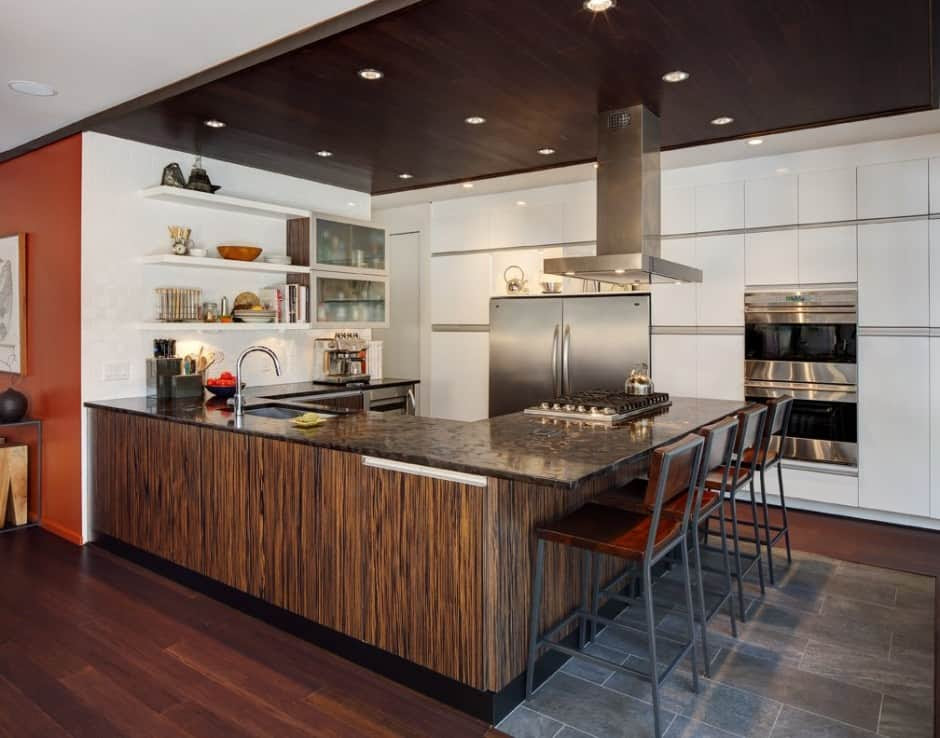 Half Century Rancher Renovated Into Large Modern 2-Story ...