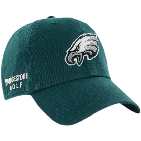 Philadelphia Eagles NFL Logo Bridgestone Golf Hat / Cap