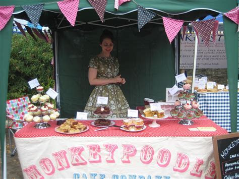 Our lovely cake stall!   Farmers Market Ideas   Cake stall