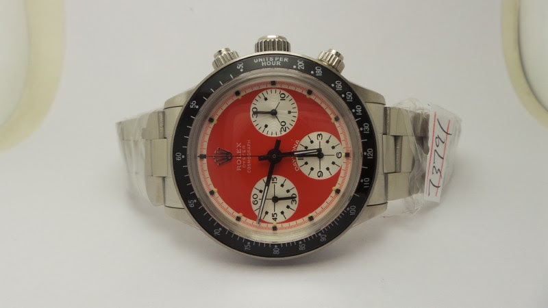 Rolex Daytona Paul Newman 6263 Red Dial