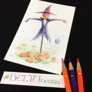 Beltaのcolored Pencil Gallery 色鉛筆ギャラリー 教室ハロウィン