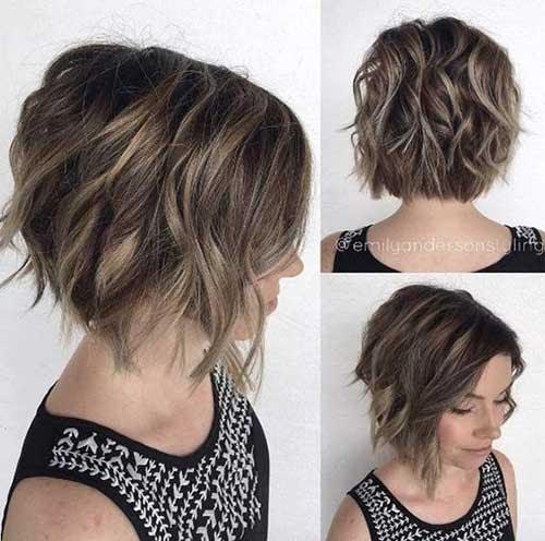Beste Kurze Frisuren Für Frauen Mit Welligem Haar Frisuren Trends 2018