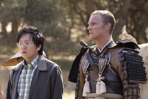 Masi Oka as Hiro Nakamura, David Anders as Kensei