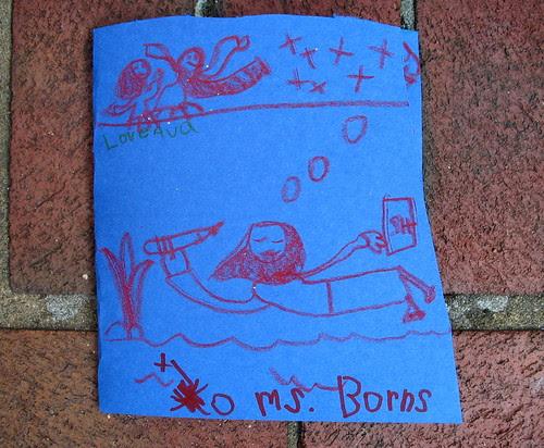 Ava Thursday: Ms. Barns card cover
