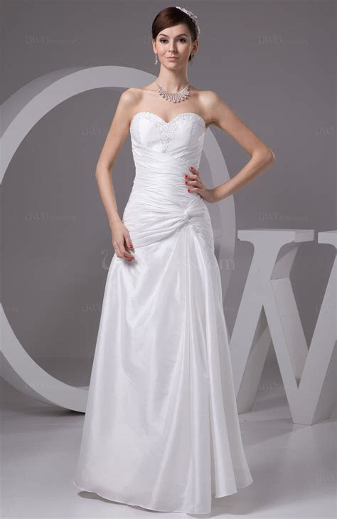 Beach Bridal Gowns Inexpensive Sleeveless Full Figure