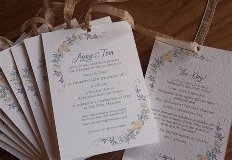 Thistle wedding invitations, Scottish wedding invitations
