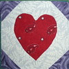 Heart in a Snowball Block