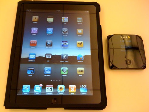 Apple iPad + Sprint Overdrive