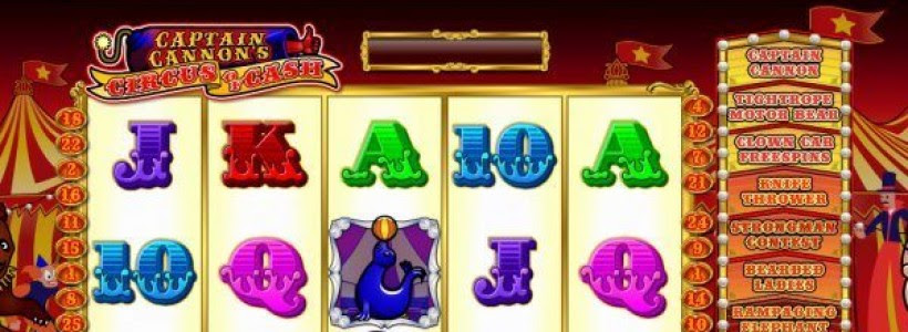 Captain cannons circus of cash ash gaming casino slots extension strategy