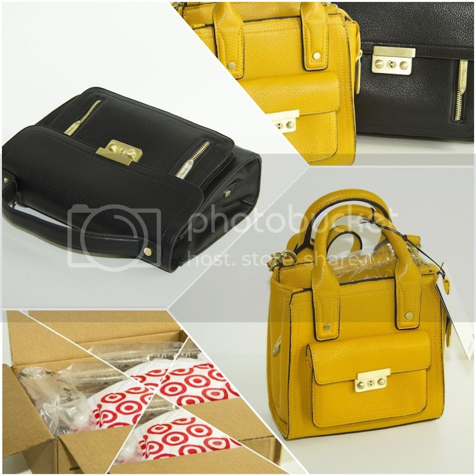 fashion blogger Linz Austria Blogger de moda buenos aires argentina Phillip Lim for target haul handbags black yellow crossbody collaboration