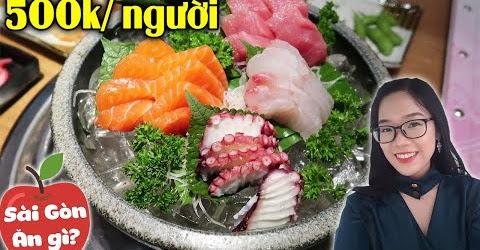 Ăn Thoải Mái Buffet Sushi | isushi Cao Thắng | Hãy Như TỐ