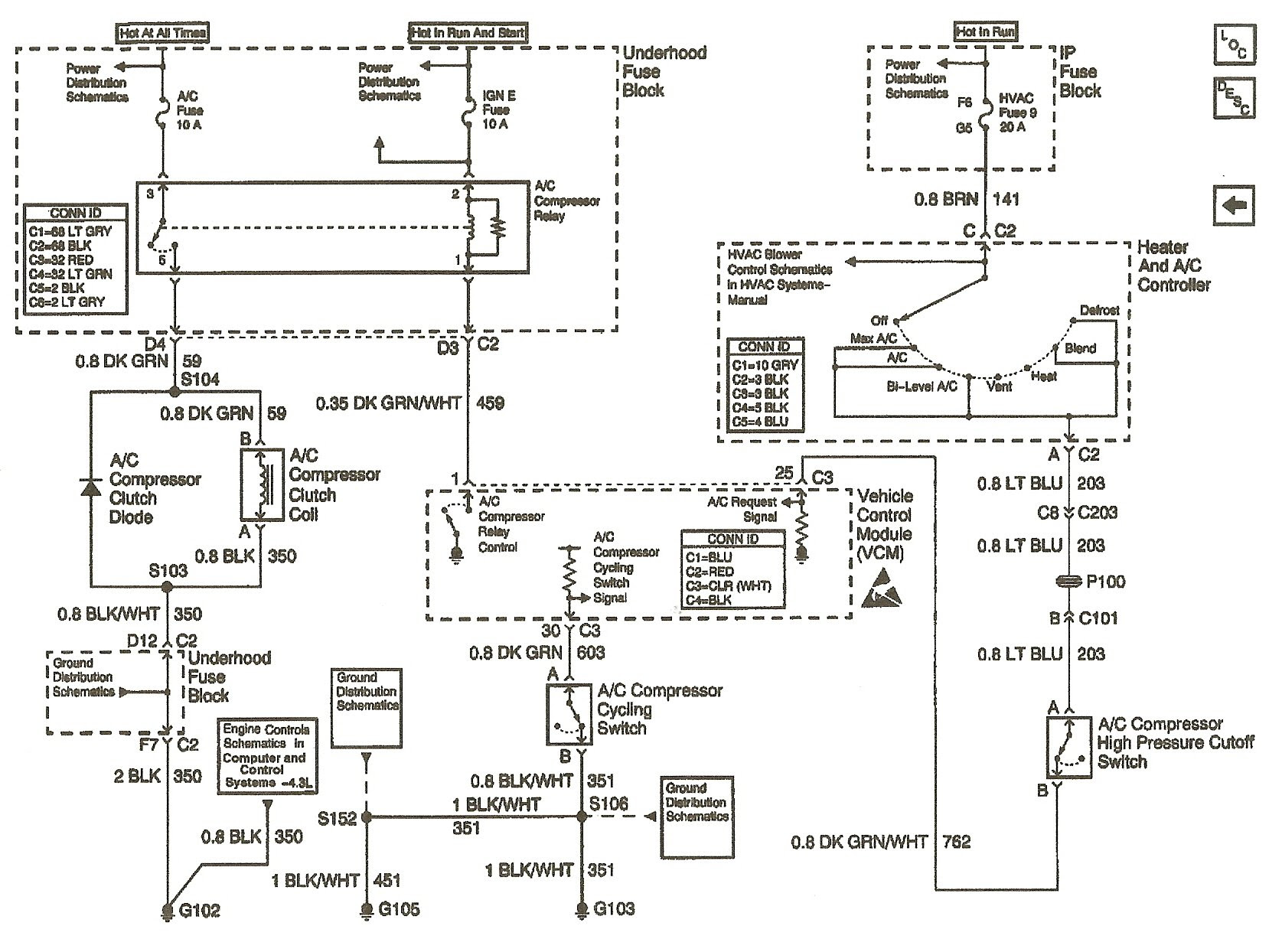 96 Chevy S10 Spark Plug Wire Diagram - Wiring Diagram Networks