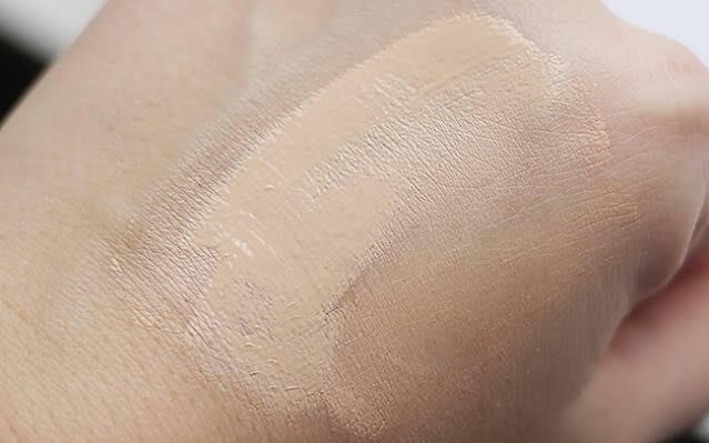 Studio fix fluid nc15 on my hand