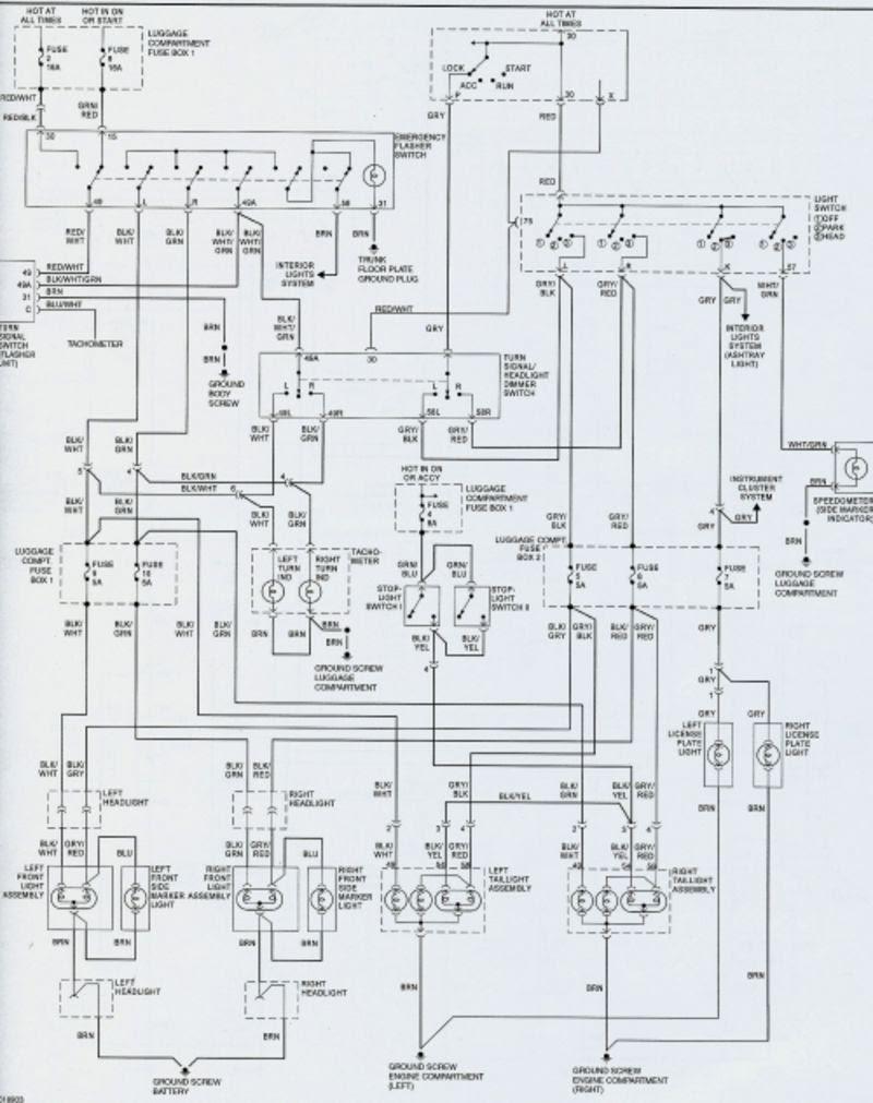 1985 Porsche 911 Wiring Diagram