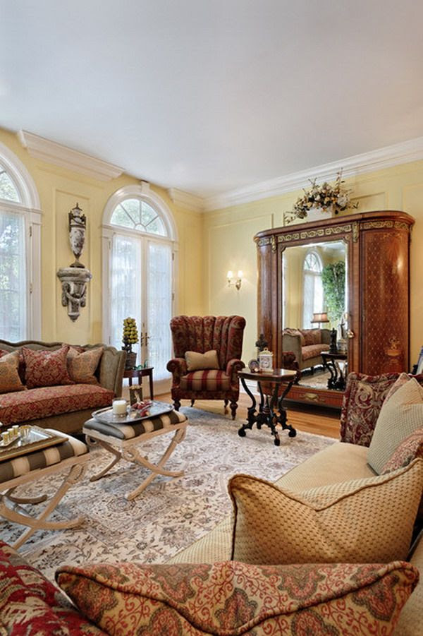25 Victorian Living Room Design Ideas - Decoration Love
