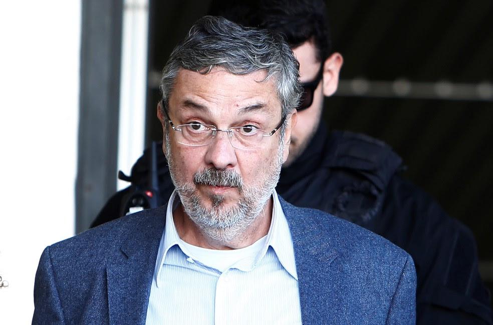 Ex-ministro Antonio Palocci foi preso em setembro de 2017 pela Operação Lava Jato (Foto: Rodolfo Buhrer/Reuters)