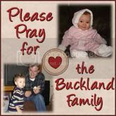 Pray for Buckland Family
