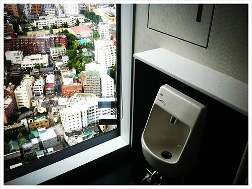 都会のトイレ