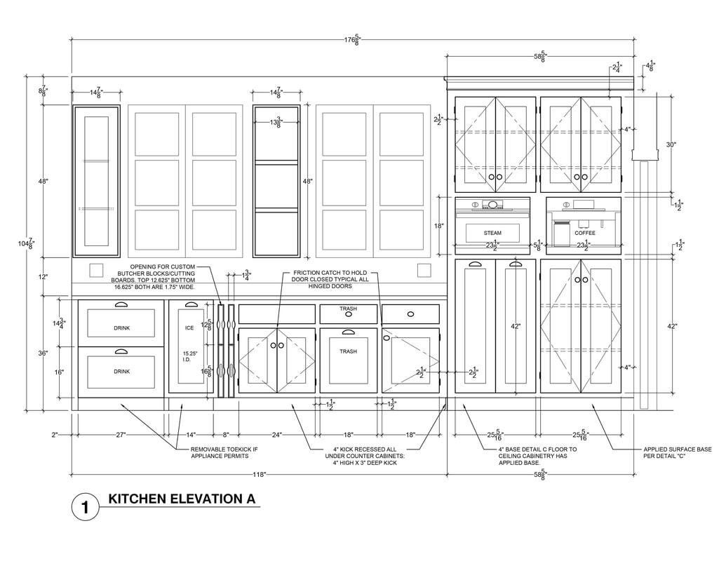 Kitchen Elevation Ideas Architectural Rendering Services