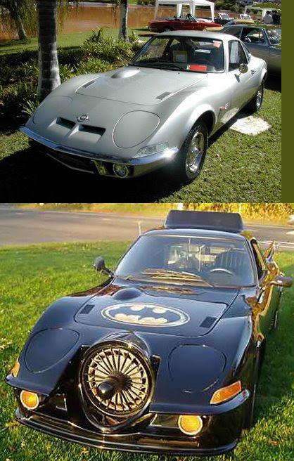 Batmóvel Opel GT 1973