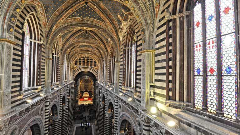 La catedral de Siena abre a la visita nuevas estancias