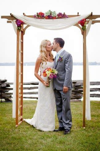 15 Wonderful Wedding Canopy & Arch Ideas