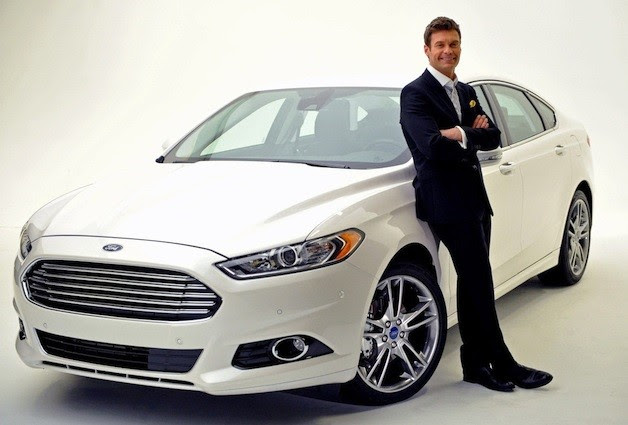 Ryan Seacrest and Ford Fusion
