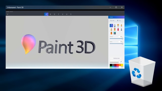 How to export to .stl and .obj in Paint 3D?