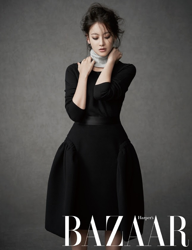 Oh Yeon Seo - Harper's Bazaar Magazine November Issue '14