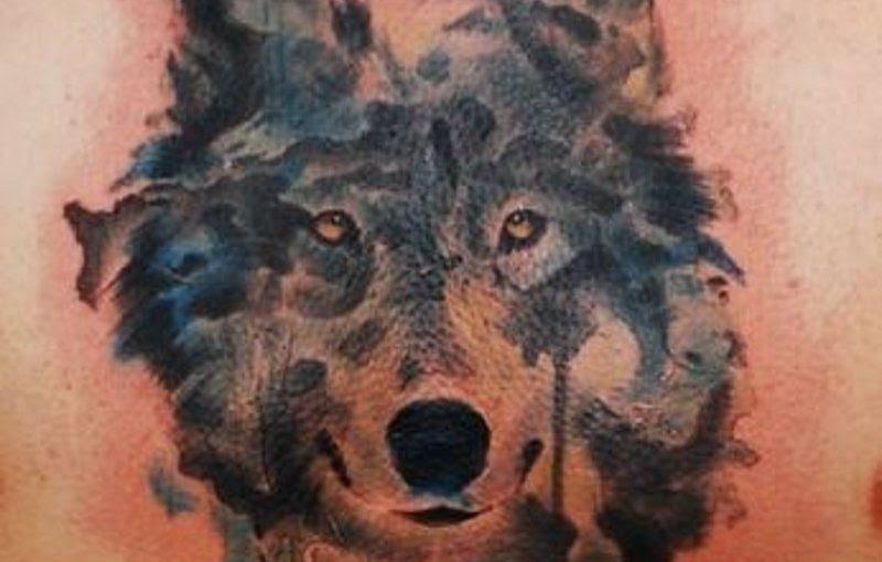 Wolf Tattoo Chest Ideas Yo Tattoo