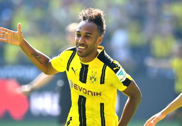 Dominador: Dortmund vence com gols de Aubameyang