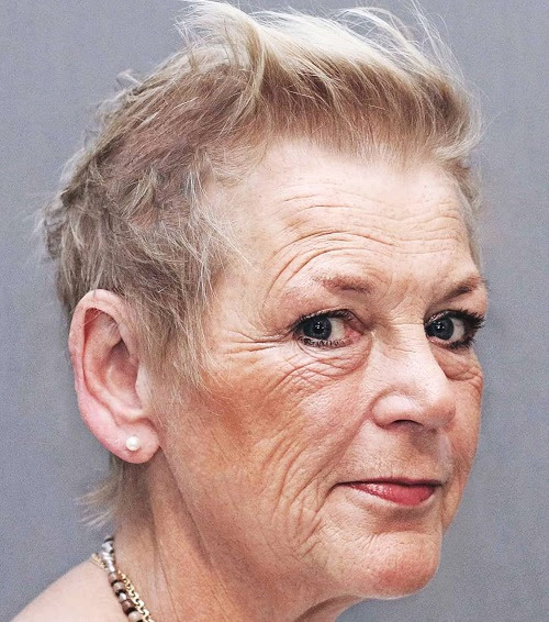 over 70s short haircut