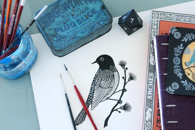 Ink Birdie