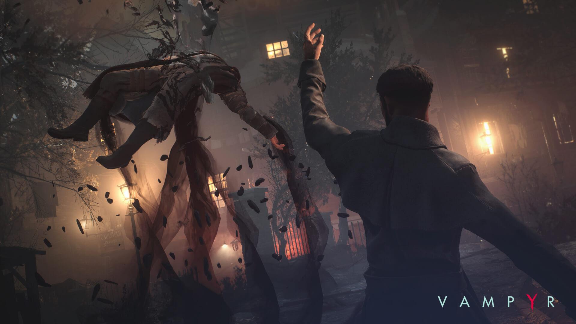Vampyr needs to sleep a little longer, delayed to spring 2018 screenshot