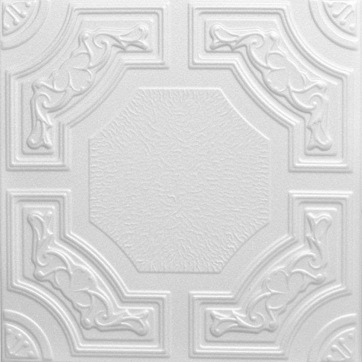 Decorative Ceiling Tiles, Inc. Store - Evergreen - Styrofoam Ceiling Tile - 20x20 -