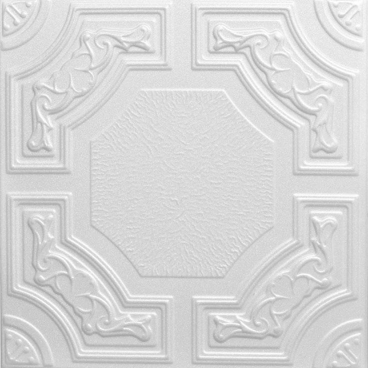 Decorative Ceiling Tiles, Inc. Store - Evergreen - Styrofoam Ceiling Tile - 20x20 -