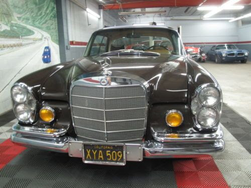 Buy used Mercedes Benz 280SE Coupe..Rust Free Black Plate ...