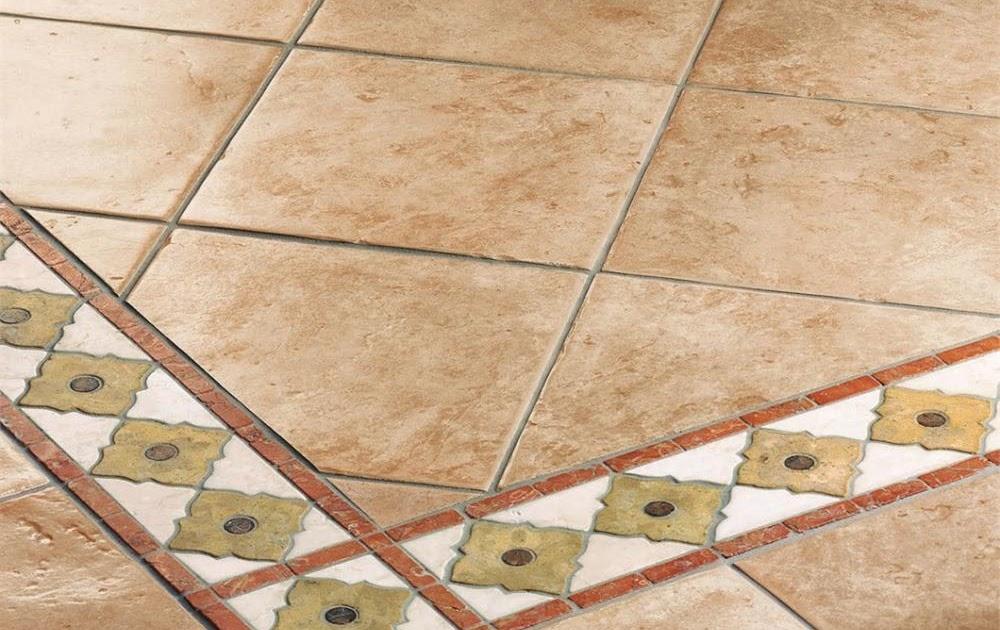 Malta per riparazioni: Greche decorative per pavimenti