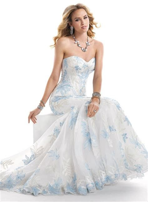 25  Best Ideas about Blue Wedding Dresses on Pinterest
