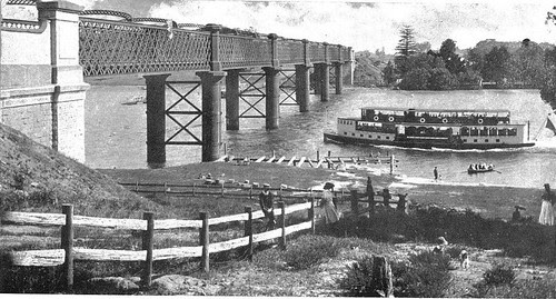 Meadowbank Rhodes Railway Bridge, Parramatta River