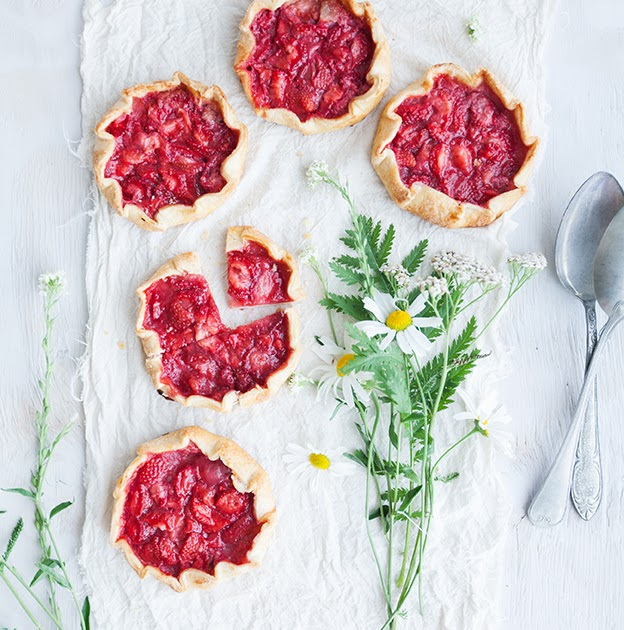 Mini strawberry galettes and the end of summer