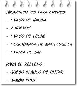 Cocina para torpes crepes con jam n y queso - Videos de como hacer crepes ...